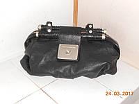 Кожаная сумка с шикарной фурнитурой, фото 1