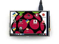 "RPi LCD (A) 4"" 320×480, IPS для Raspberry Pi від Waveshare, фото 1"
