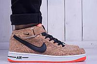 Кроссовки мужские Nike Air Force 1 High Mid Cork