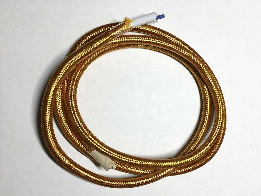 AMP провод текстильный 2x0.75 (Gold)