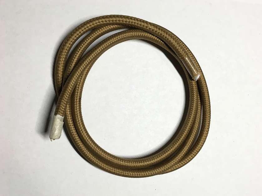 AMP провод текстильный 2x0.75 khaki