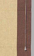 Римские шторы Стелла 140*170 см лён , фото 2
