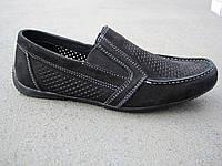 Туфли детские подростковые летние замшевые 32-39 р
