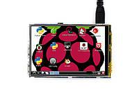 "RPi LCD (A) 3.5"" (320×480, IPS резистивний сенсор) для Raspberry Pi від Waveshare"