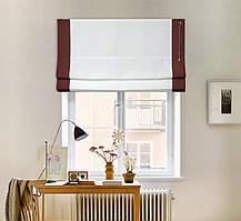 Римские шторы Призма 40*170 см. лён