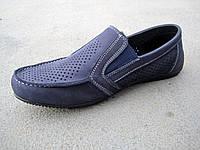 Туфли мокасины детские подростковые замшевые летние 32-39 р, фото 1