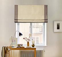 Римские шторы Призма 60*170 см. лён