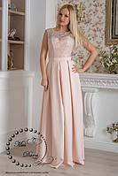 84f9591f270 Вечернее выпускное платье длинное пудровое