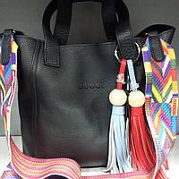 Кожаная женская сумка Gucci Гучи