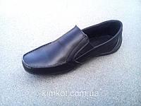 Туфли детские подростковые кожаные 32-39 р