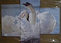 "Модульна картина ""Лебеді"""
