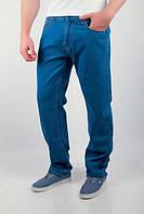 Джинсы мужские батал (большие размеры) №166KF004 (Светло-синий)