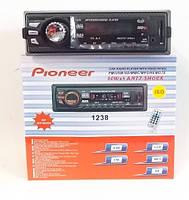 Автомагнитола 1238, авто mp3 с USB/SD card/FM.