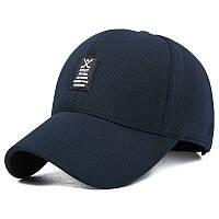 Стильная мужская бейсболка Golf. Темно-синяя.