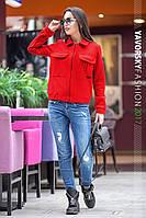 Женская куртка ЛИМА  цвет красный
