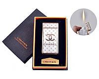 Электроимпульсная и газовая USB-зажигалка Chanel № 4821-5, зажигалка 2 в 1, работает: газ или электричество