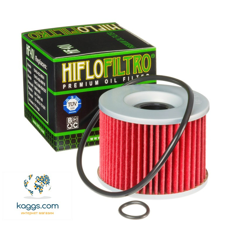 Масляный фильтр Hiflo HF401 для Honda, Benelli, Bimota, Kawasaki, Moto Guzzi, Yamaha.