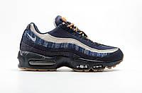 Мужские кроссовки Nike Air Max 95 Prepium Denim топ реплика
