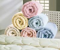 Одеяло микрофибра, полуторное (холлофайбер)