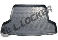 Резиновый коврик в багажник Chevrolet Cruze SD 09-13 Lada Locer (Локер)