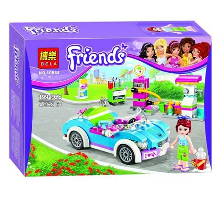 Конструктор Bela Friends / Подружки 10544 Кабриолет Мии (аналог Lego Friends 41091), фото 2