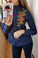 Рубашка женская (цвета) СЕР155