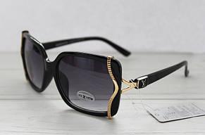 Изящные солнцезащитные женские очки прямоугольной формы , фото 3