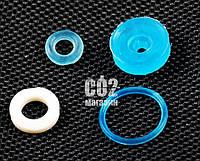Crosman (Gletcher) TT, замена рем.комплекта, иглы баллона и поджимной гайки иглы.