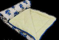 Одеяло - искусственная шерсть, двуспальное (поликоттон)