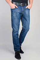 Джинсы мужские синие, потертые 310K003 (Синий)