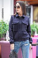 Женская куртка ЛИМА  цвет серый
