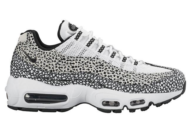 Мужские кроссовки Nike Air Max 95 White Black Cool топ реплика