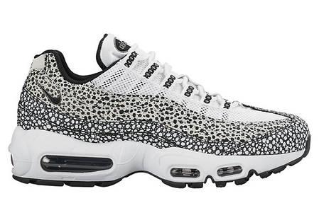 Мужские кроссовки Nike Air Max 95 White Black Cool топ реплика, фото 2