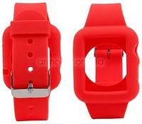 Чехол ремешок для часов Apple Watch 42mm силиконовый