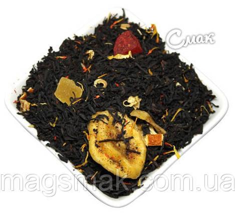 Чай Наглый фрукт, черный на вес, фото 2