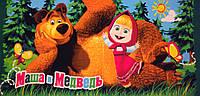 Детское пляжное полотенце Маша и Медведь