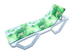 Туристический коврик 117x50 см пенополиэтилен 10мм