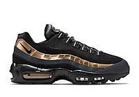 "Кроссовки мужские Nike Air Max 95 ""Black/Gold"" топ реплика"