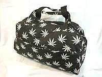Спортивная сумка унисекс, черно-белая
