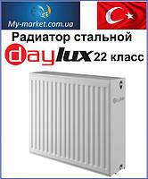 Радиатор стальной Daylux 22 класс 500Hx500L бок. подкл.