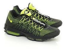 Мужские кроссовки Nike Air Max 95 Ultra Jacquard Black Green топ реплика, фото 3