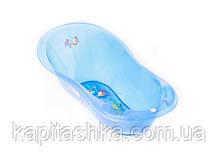 Ванна с термометром Tega Большая 102 см AQ-005 AQUA синяя