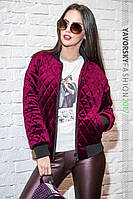 Женская куртка МАРТА  цвет вишня