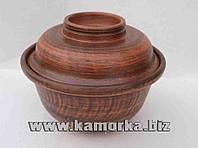 Горшок для запекания. Модель 2. (глиняная посуда, глиняний посуд)