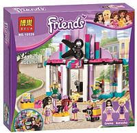 Конструктор Bela серия Friends / Подружки 10539 Парикмахерская в Хартлейк-сити (аналог Lego Friends 41093)