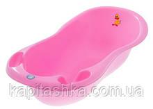 Ванна с термометром Tega Большая 102 см TG-059 Ter 102 BALBINKA розовый