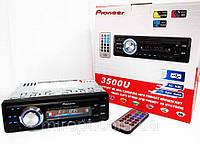 Автомагнитола Pioneer 3500U Usb+Sd+Fm+Aux+ пульт, фото 1
