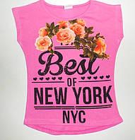 """Туника подросток """"Best of New York"""" для девочек  6,7,8,9,10 лет"""