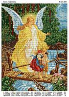 """""""Ангел Хранитель"""" схема  для вышивки бисером."""