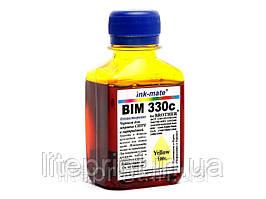 Чернила для принтера Brother - Ink-Mate - BIM330, Yellow, 100 г
